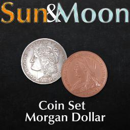 Sun and Moon Coin Set