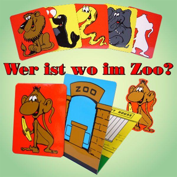 Wer ist wo im Zoo?