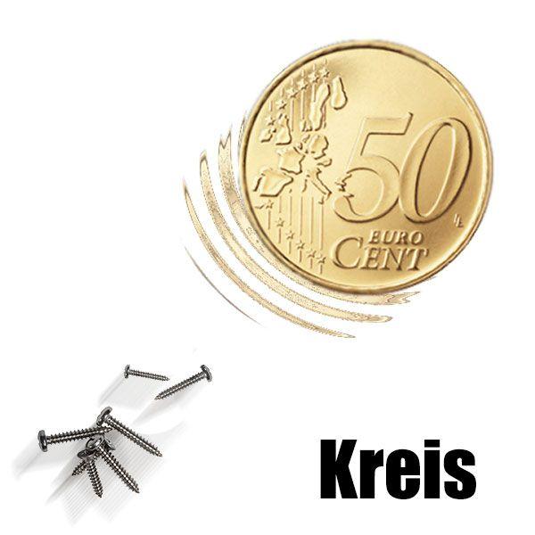 Magnetmünze 50 Cent Euro -Kreis-