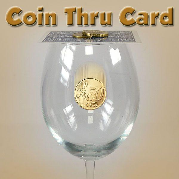 Coin Thru Card 50 Cent