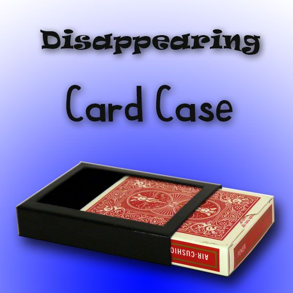 Disappearing Card Case
