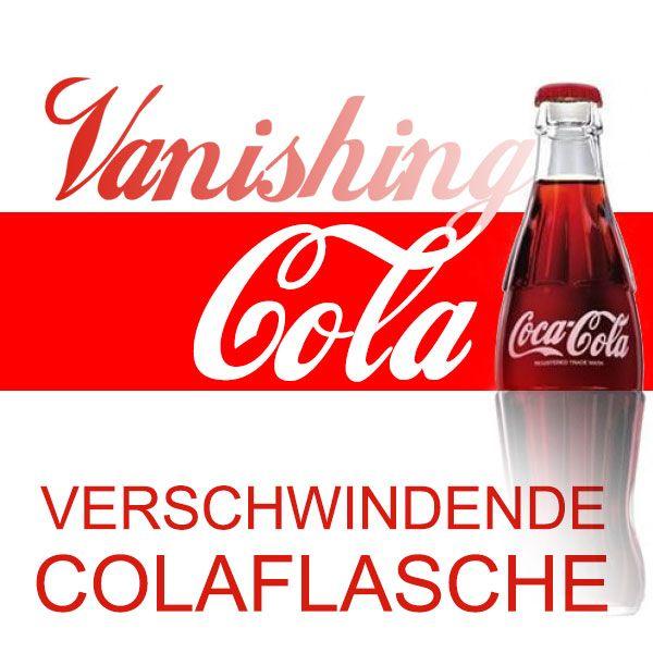Vanishing Cola (Latexflasche leer)