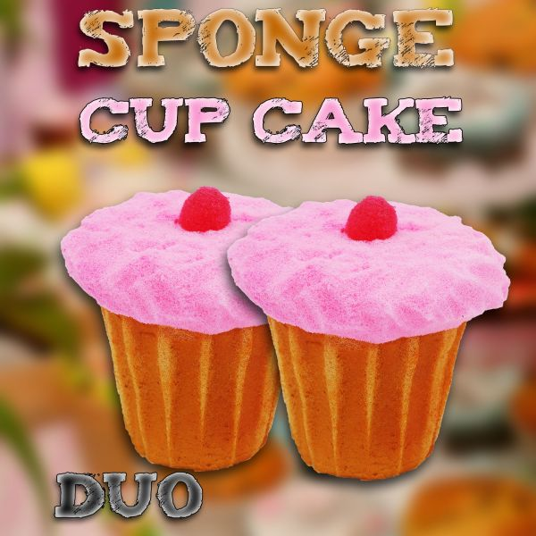 Sponge Cupcake (2 stk) by Alexander May