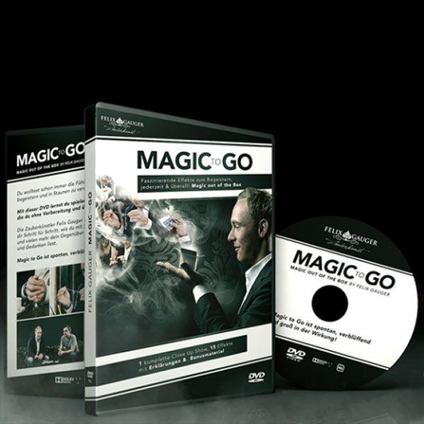 Magic to Go (close-up magic DVD)