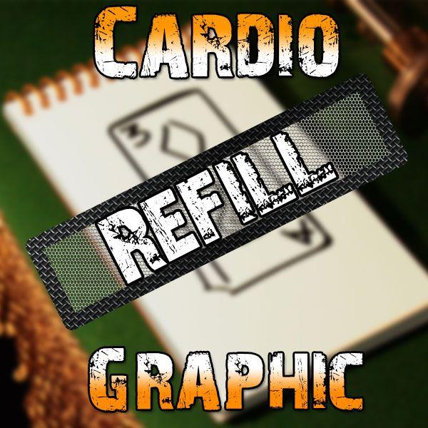Cardio Graphic Refills