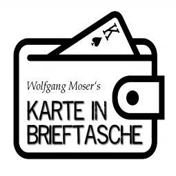 Gedachte Karte in Brieftasche - Wolfgang Moser
