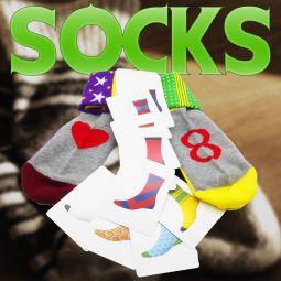 Socks by Michel Huot