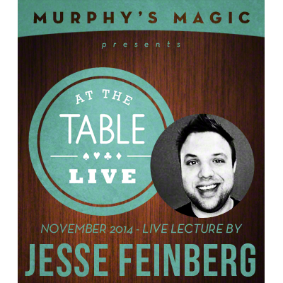 At the Table Live Lecture - Jesse Feinberg 11-5-2014