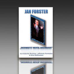 """""""UNERWARTET MENTAL ANGEHAUCHT"""" Jan Forster"""