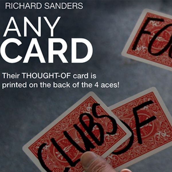 Any Card - Richard Sanders