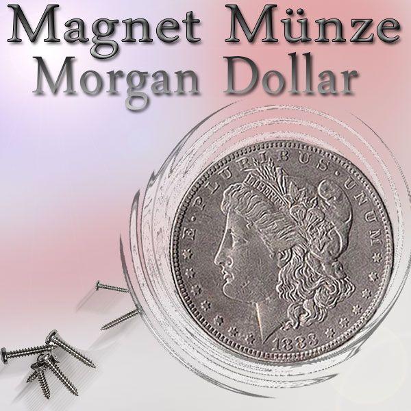 Magnetmünze Morgan Dollar