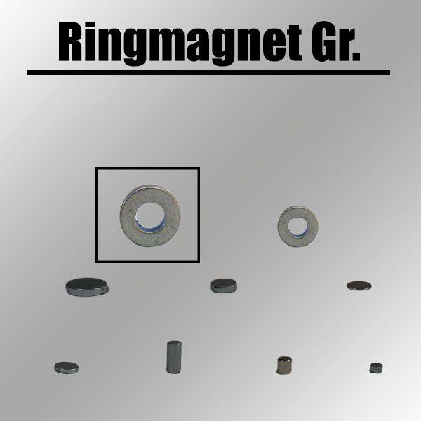 Ringmagnet groß