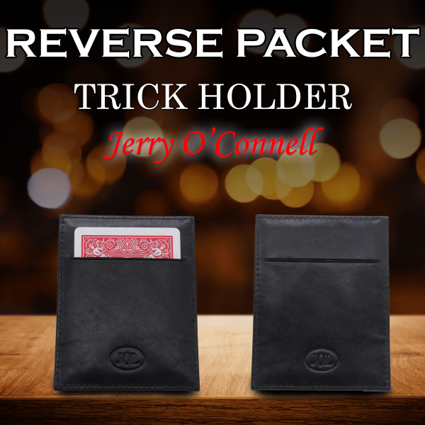 Reverse Packet Trick Holder by Jerry O'Connell