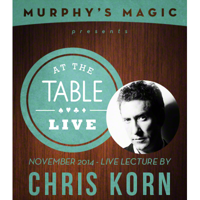 At the Table Live Lecture - Chris Korn 11-12-2014