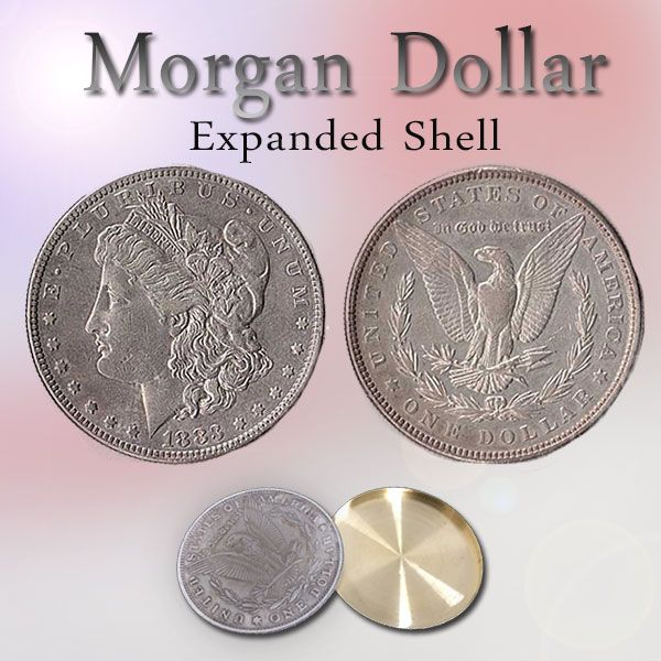 Morgan Dollar - Expanded Shell