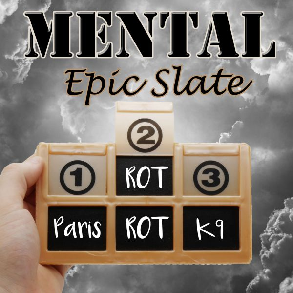 Mental Epic Slate - Pocket