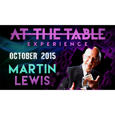 At the Table Live Lecture Martin Lewis October 21st 2015