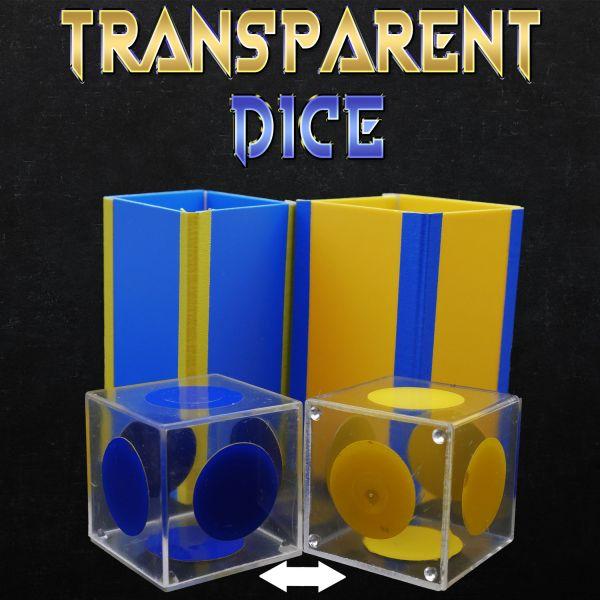 Transparent Dice - Magiro