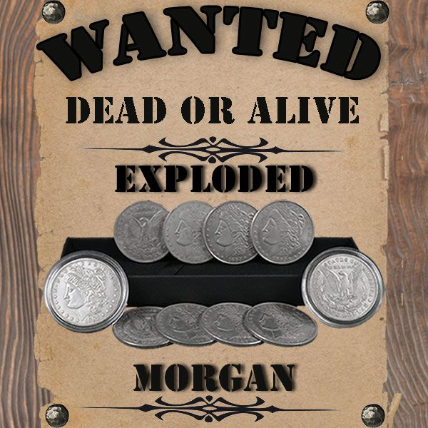 Exploded Morgan by J.C. Magic