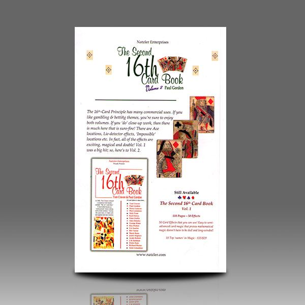 The Second 16th Card Book Vol.2
