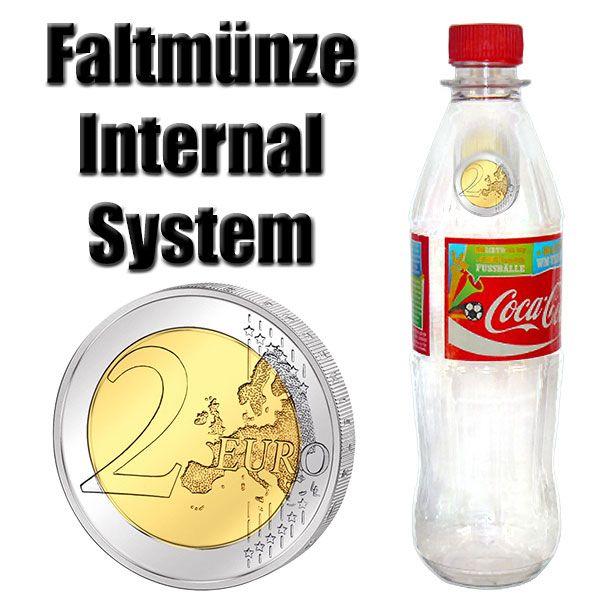 Faltmünze Internal System 2 Euro