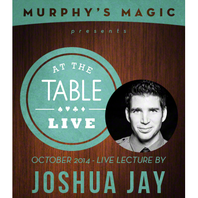 At the Table Live Lecture - Joshua Jay 10-8-2014