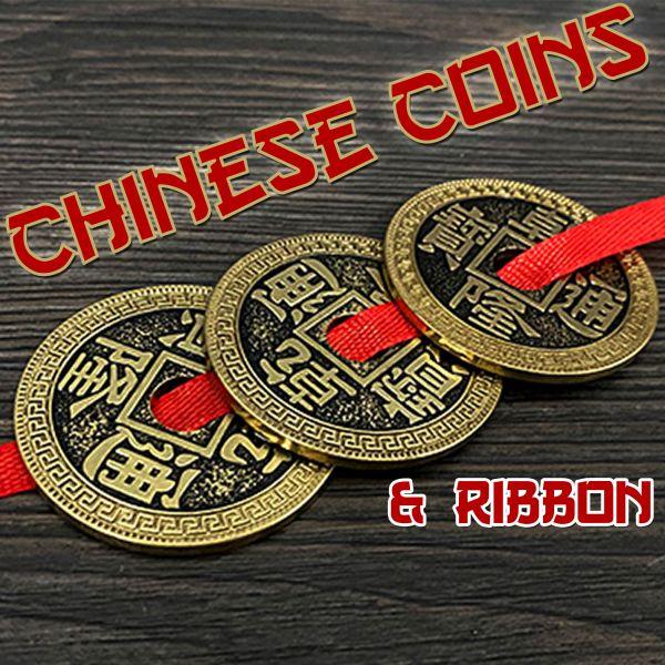 Chinese Coins & Ribbon